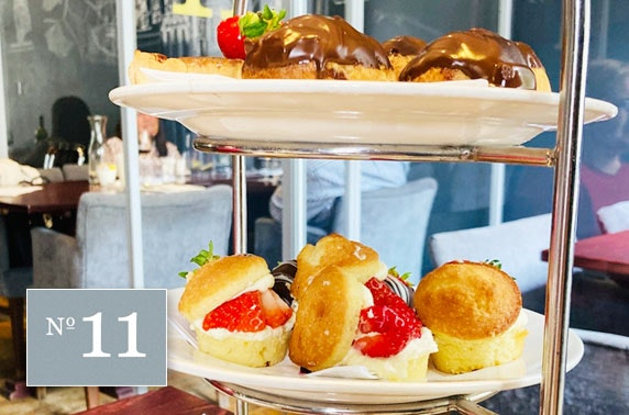 Takeaway afternoon tea at No 11 Brunswick, City Centre