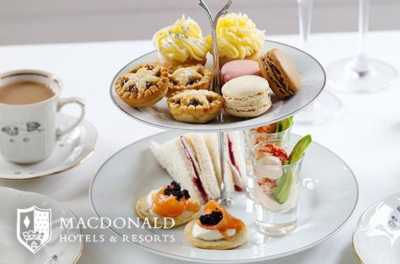 Festive afternoon tea, 4* Macdonald Inchyra Hotel & Spa