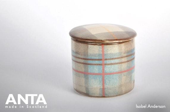 ANTA Scotland handmade candle