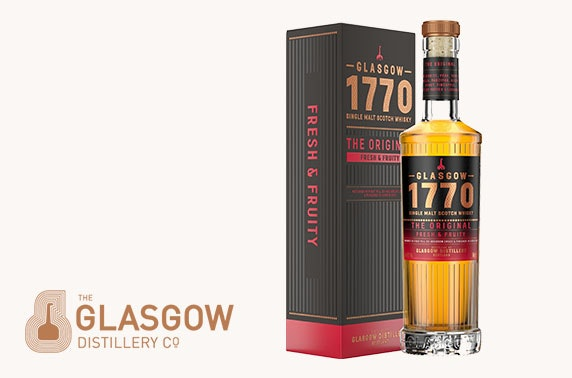 Award-winning whisky, rum or gin delivered