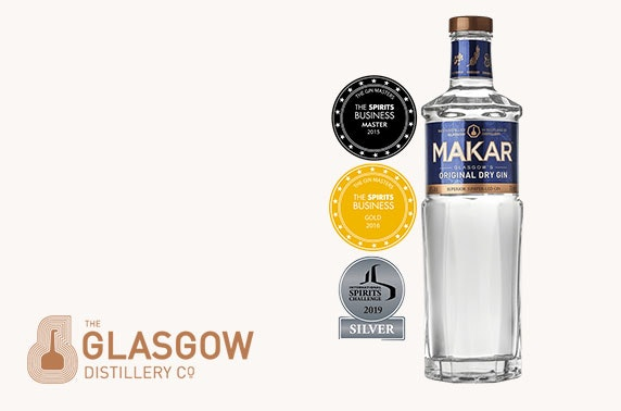 Award-winning whisky, rum or gin delivered