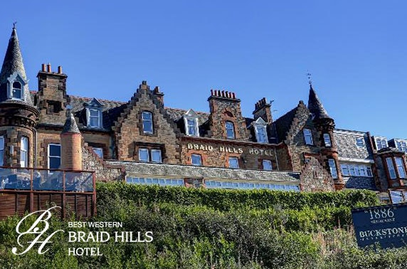 Braid Hills Hotel stay - from £69