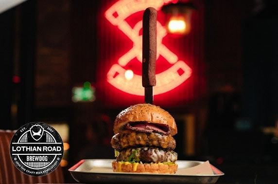 BrewDog takeaway burgers & beer, Lothian Road