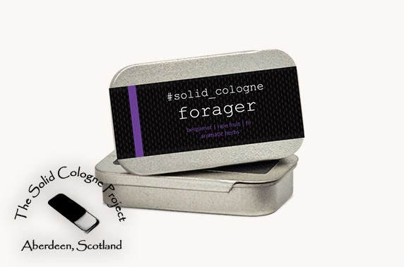 Fragrances from The Solid Cologne Project - from £10 inc P&P