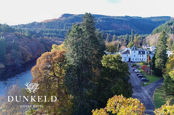 4* Dunkeld House Hotel suite stay, Perthshire
