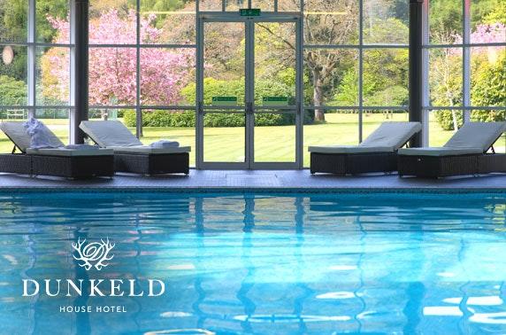 4* Dunkeld House Hotel spa day