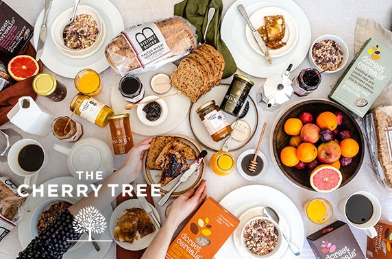 Ultimate Selection box from The Cherry Tree inc. pate, cheese, preserves, crackers and more