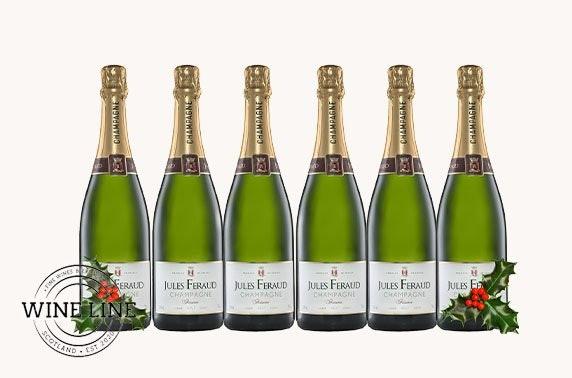 Award-winning champagne