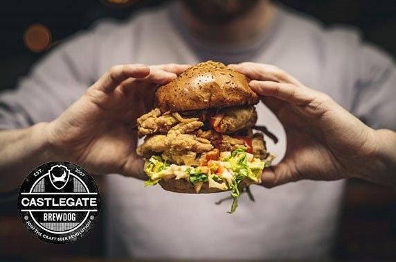 BrewDog burgers & beer, Castlegate