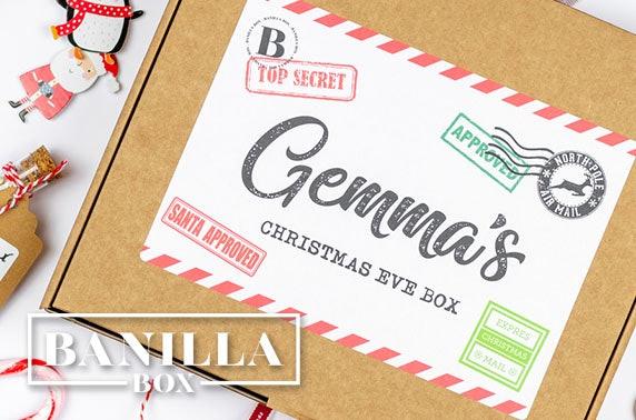 Christmas boxes from Banilla Box