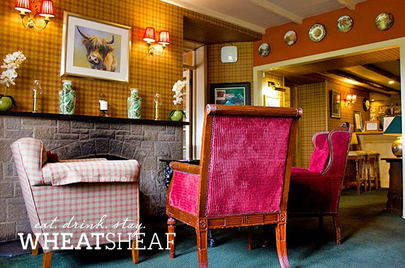 4* The Wheatsheaf stay, Borders