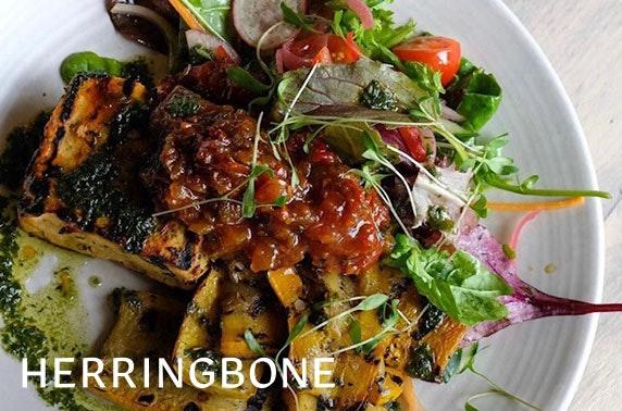 Herringbone Bar & Restaurant dining, North Berwick