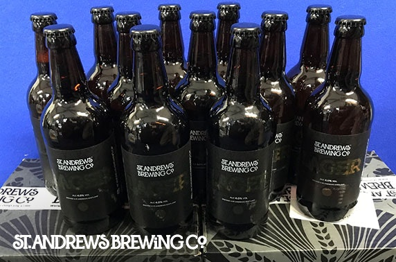 St Andrews Brewing Company beers delivered