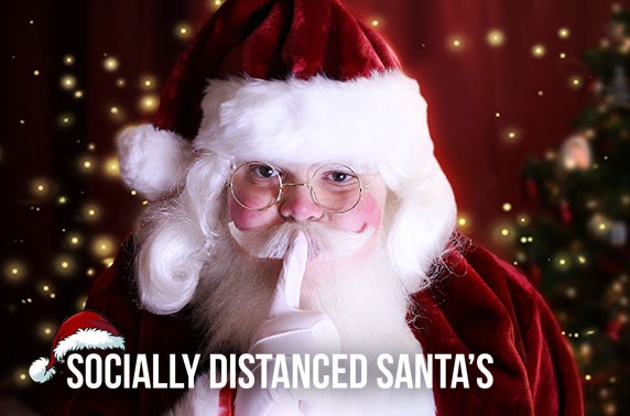 Personalised video or 10 min live grotto call from Santa
