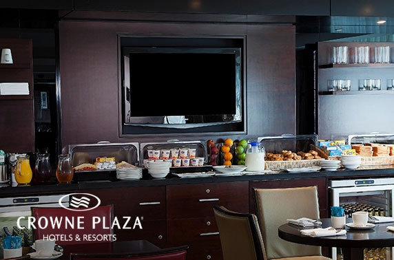 Crowne Plaza Manchester Airport stay