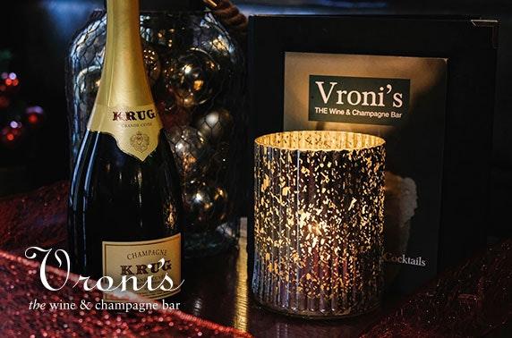 Vroni's voucher spend & Prosecco