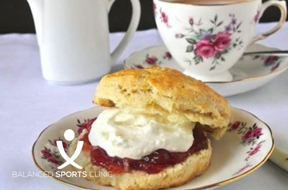Massage & cream tea, Kintore