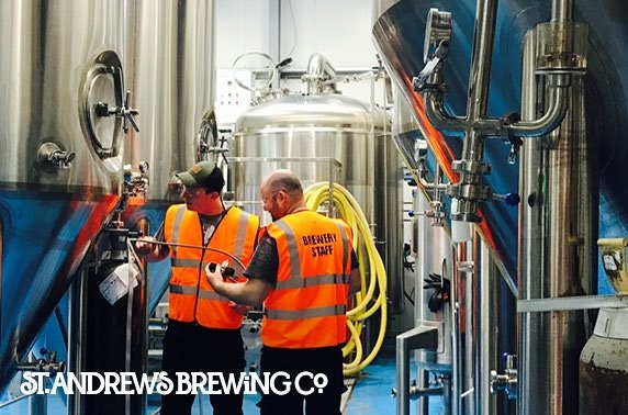 St Andrews Brewing Company Brewery Tours