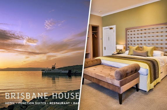 Brisbane House getaway, Largs - from £55