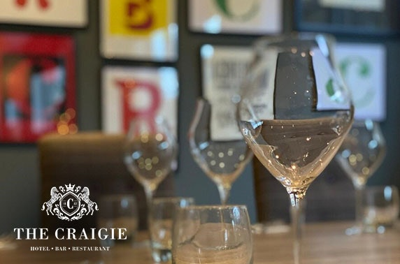 The Craigie Hotel voucher spend & Prosecco