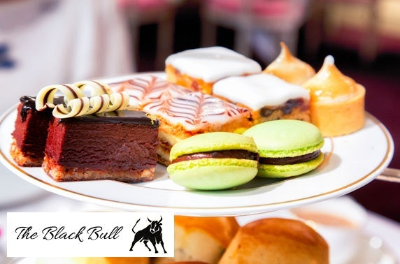 The Black Bull Prosecco afternoon tea