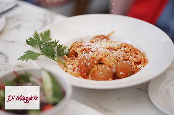 Award-winning Di Maggio's dining