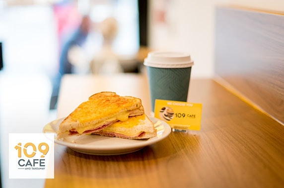 Newly-opened 109 Cafe, Perth - from £3pp