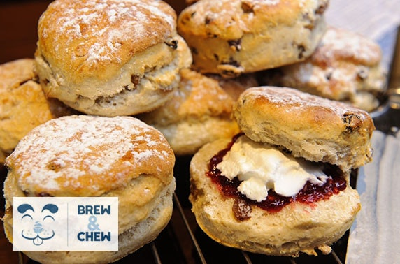 Brew & Chew cream tea - from £4pp