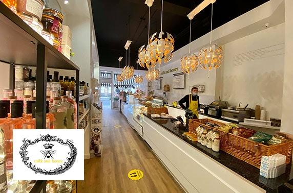 Milk & Honey deli and takeaway voucher, Queen Street