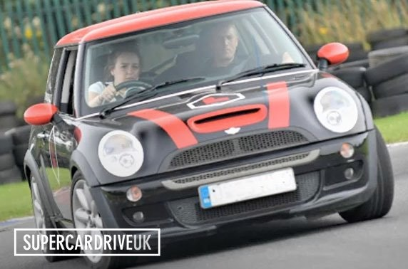 Junior Mini Cooper & supercar driving experience