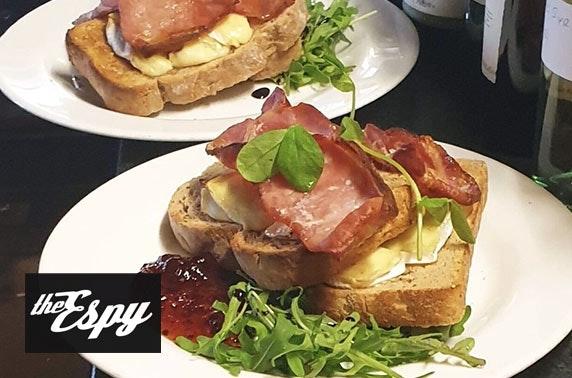 The Espy breakfast
