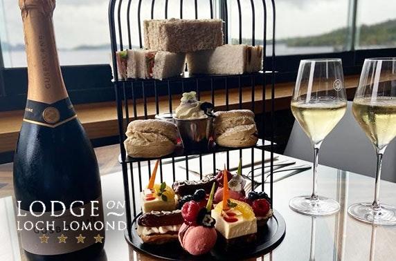 4* Lodge on Loch Lomond morning or afternoon tea