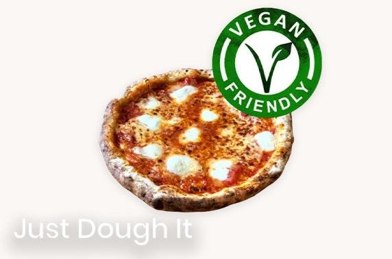 Two DIY vegan pizza kits