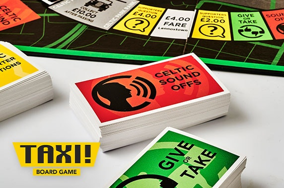 Taxi! Board Game Celtic FC edition
