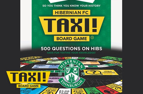 Taxi! Board Game Hibernian FC edition