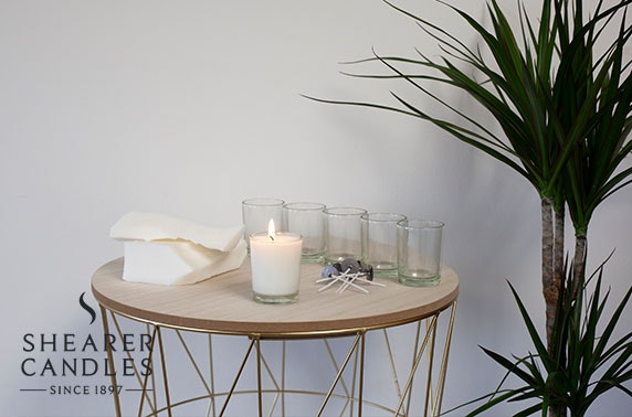 Create your own Shearer Candles at-home