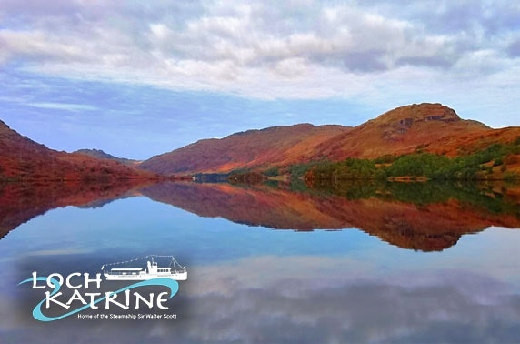 Loch Katrine cruise & lunch