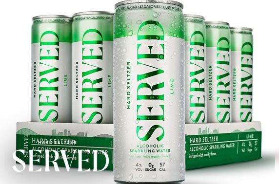 Hard Seltzer from £1.25 per can inc P&P