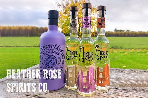 70cl Heather Rose Gin plus 20cl St Andrews Gin delivered from Heather Rose Spirits Co