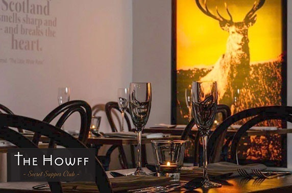 The Howff Secret Supper Club at-home