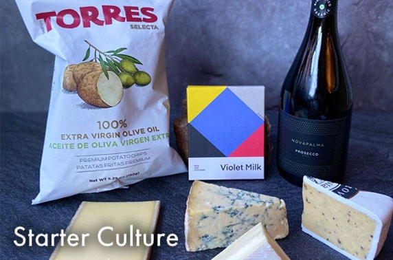 Starter Culture cheese & Prosecco hamper