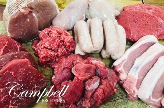 40 piece meat pack; inc. pork, chicken, steaks & more - free P&P
