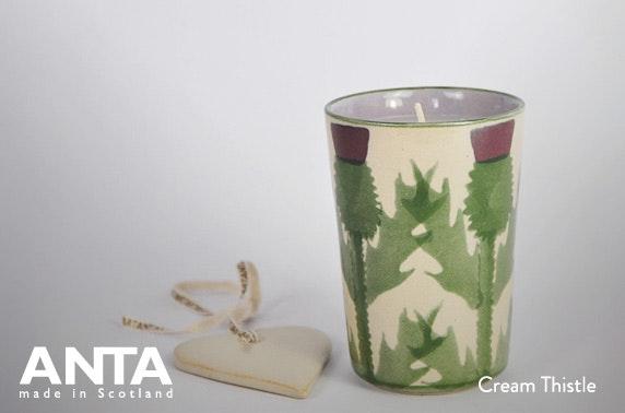 ANTA Scotland handmade candles