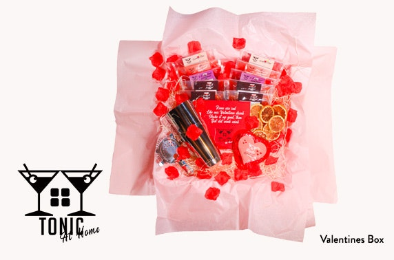 Valentine's cocktail gift box, free P&P