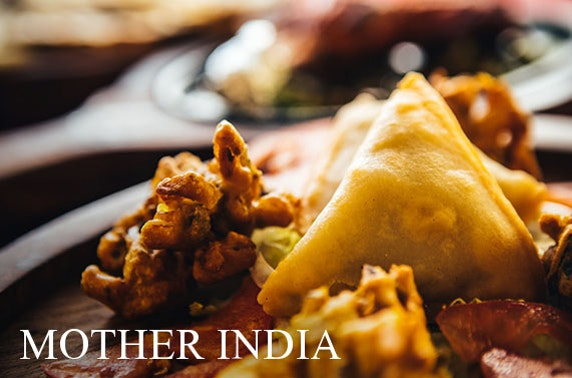 Mother's Day feast, Dining In - Mother India
