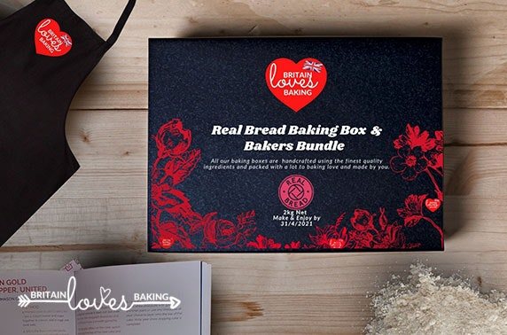 Bread making box delivered