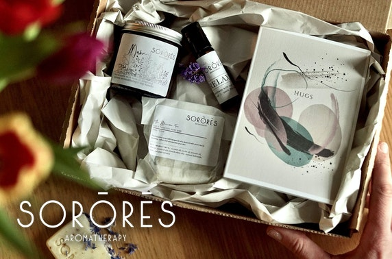 Mother's Day box, Sorores Aromatherapy