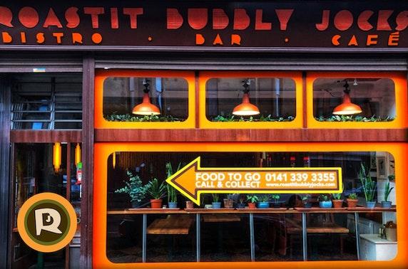 Roastit Bubbly Jocks dining at-home