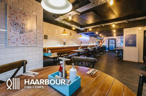 Haarbour Fish + Chips takeaway suppers, St Andrews