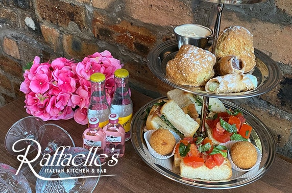 Mother's Day Italian afternoon tea at-home